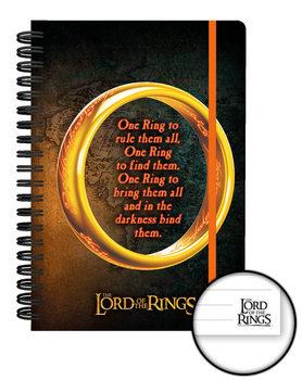 El Señor de los Anillos - One Ring Cuadernos