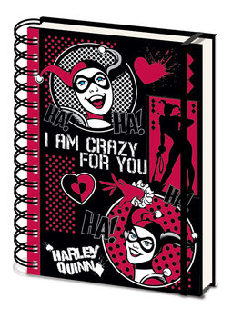 Harley Quinn - I Am Crazy For You Cuaderno