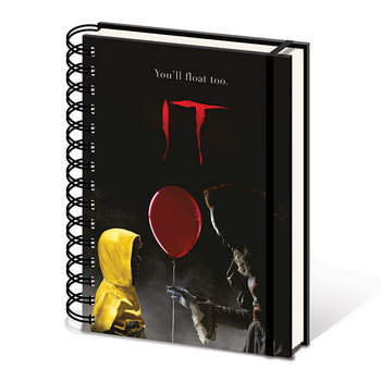 IT - Pennywise & Georgie Cuaderno