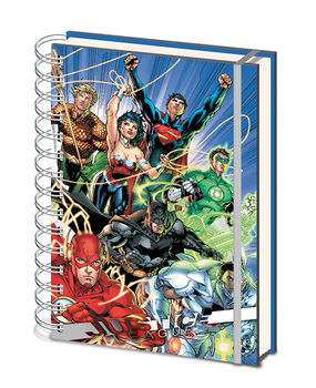 Justice League - United Cuaderno
