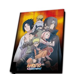 Cuaderno Naruto Shippuden - Konoha Group
