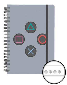 Playstation - Buttons Cuaderno