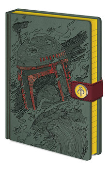 Star Wars - Boba Fett Art Cuaderno