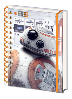 Star Wars: Episodio VIII - Los últimos Jedi- BB-8 Cuaderno