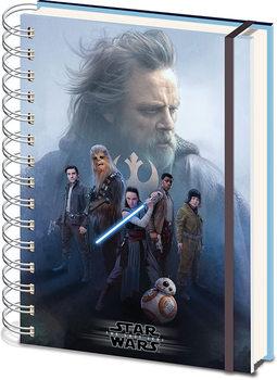 Star Wars: Episodio VIII - Los últimos Jedi- Cast Cuaderno
