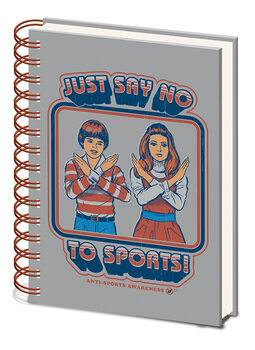 Steven Rhodes - Say No to Sports Cuaderno
