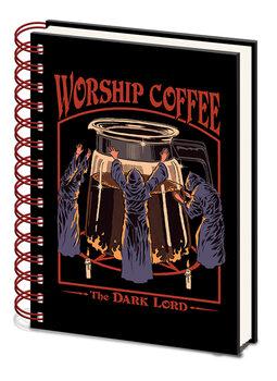 Steven Rhodes - Worship Coffee Cuaderno