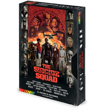 Cuaderno The Suicide Squad (Retro) VHS