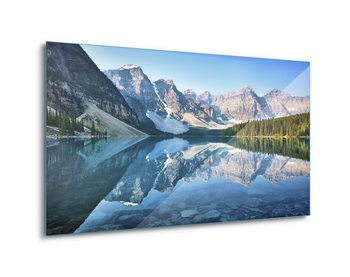 Cuadro en vidrio Mountain Mirror