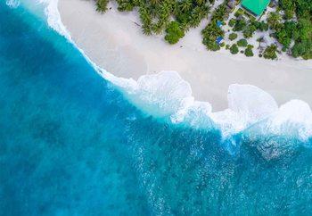 Cuadro en vidrio  Paradise From Above