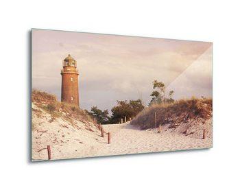 Cuadro en vidrio Pastel Lighthouse
