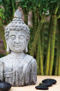 Cuadro en vidrio Zen - Buddha