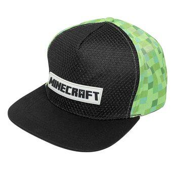 Czapeczka z daszkiem Minecraft - Logo