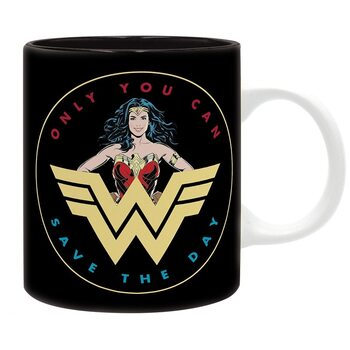 Becher DC Comics - retro Wonder Woman