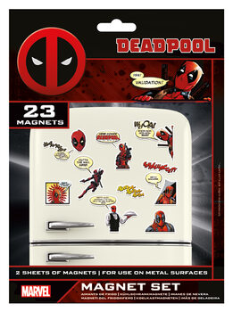 Aimant Deadpool - Comic