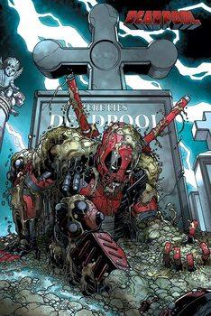 Deadpool - Grave - плакат (poster)