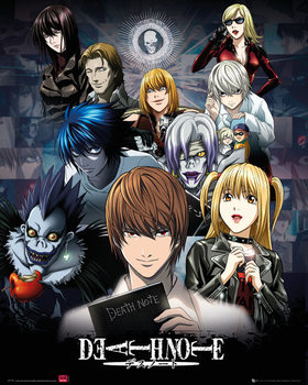 Death Note - collage - плакат (poster)