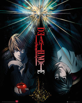 Death Note - duo - плакат (poster)