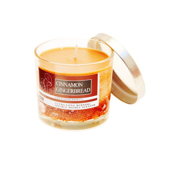 Scented Candle in Glass - Cinnamon, Gingerbread 8 cm Decorațiuni pentru locuință