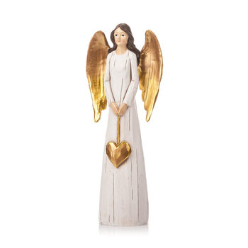 Angel Gold with Long Wings, 27 cm Decorazione per la casa