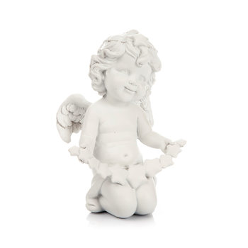 Angel Kneeling with Dangling Heart,  13 cm Decorazione per la casa