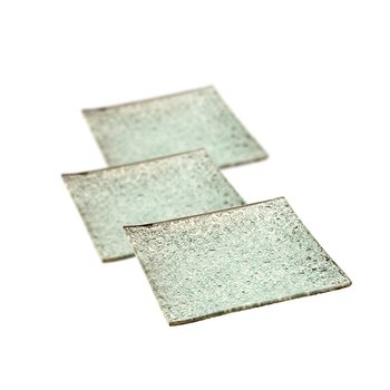 Candle Coaster Silver 12 cm, set of 3 pcs Decorazione per la casa