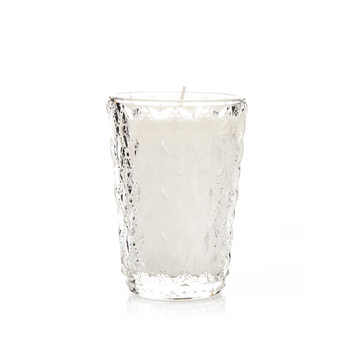 Candle in Glass - Vanilla, While 11 cm Decorazione per la casa