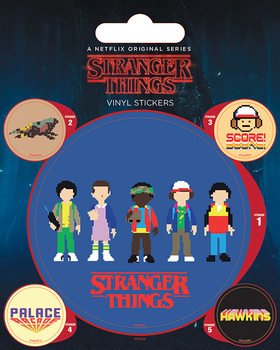 Matrica Stranger Things - Arcade