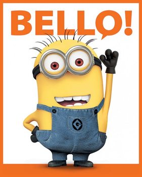 Despicable Me 2 - Bello - плакат (poster)
