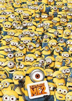 Despicable Me 2 - Many Minions - плакат (poster)