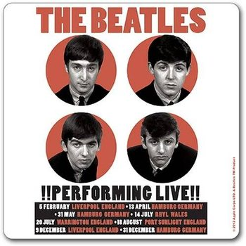 The Beatles – Performing Live Dessous de Verre