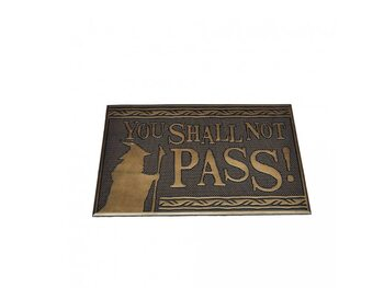Deurmat Lord Of The Rings - Shall not Pass (Rubber)