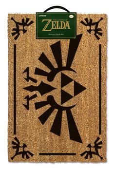 Deurmat The Legend Of Zelda - Triforce Black