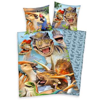 Povlečení Dinosauři - Selfies