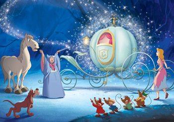 Ταπετσαρία τοιχογραφία  Disney Princesses Cinderella