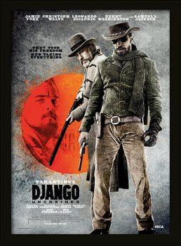 Django elszabadul - Thez Took His Freedom üveg keretes plakát