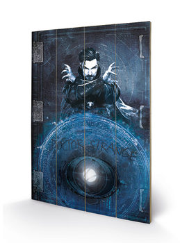 Bild auf Holz Doctor Strange - Enchantment