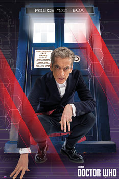 Doctor Who - Crouching - плакат (poster)