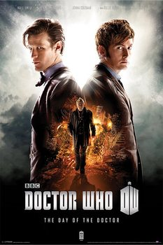 DOCTOR WHO - day of the doctor - плакат (poster)