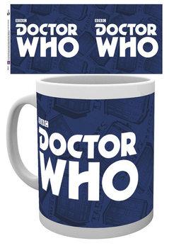 Csésze Doctor Who (Ki vagy, doki?) - Logo