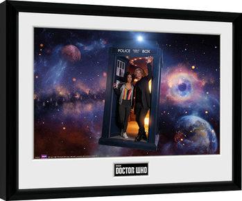 Πλαισιωμένη αφίσα Doctor Who - Season 10 Episode 1 Iconic