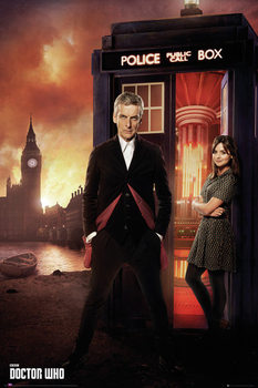 Doctor Who - Series 8 Portrait - плакат (poster)