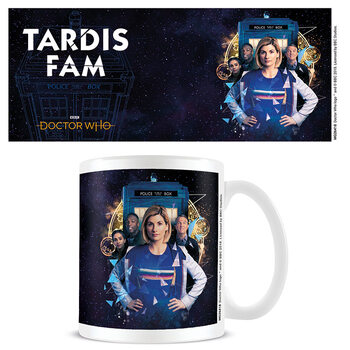 Becher Doctor Who - TARDIS Fam