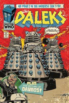 Doctor Who - The Daleks Comic плакат