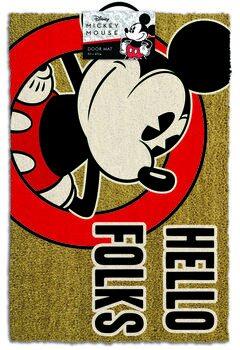 Dörrmatta Musse Pigg (Mickey Mouse) - Hello Folks
