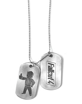 Fallout 4 - Vault Boy Dog tag