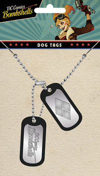 DC Comics - Harley Quinn Dog tags
