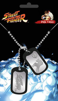 Street Fighter - Fight Dog tags