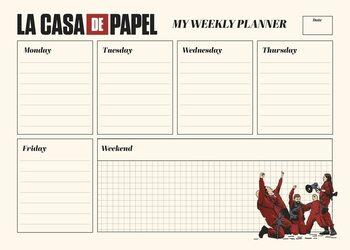 Plan lekcji Dom z papieru (La Casa De Papel)