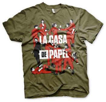 Tricou Dom z papieru (La Casa De Papel) - La Pandilla